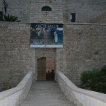 Castello Svevo - welcome banner