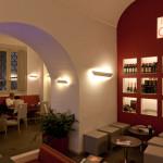 Una delle sale del Bras Cafè a Roma - Palazzo Braschi