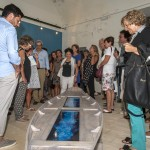 """Opening """"Segni e sogni del Mediterraneo"""" – Fabrizio Plessi """"Digital Boat"""""""