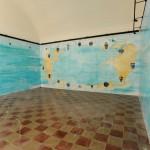 """Former Prisons – Piero Pizzi Cannella """"Mappa del Mondo, i vasi dei pesci dell'isola"""""""