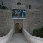 Ingresso Castello Svevo - banner di benvenuto
