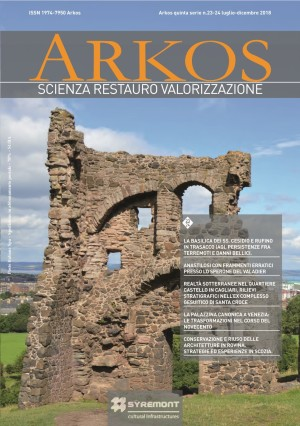 Arkos. Science restoration and valorization n. 23 – 24 fifth series